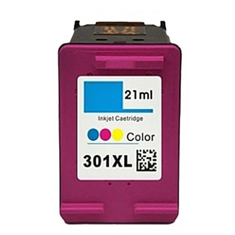 HP 301 XL Yüksek Kapasiteli Renkli Mürekkep Kartuşu CH562E