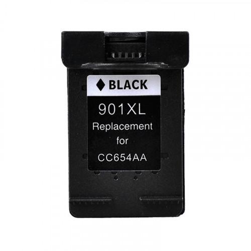 HP 901 XL Siyah Yüksek Kapasiteli Mürekkep Kartuşu CC654A