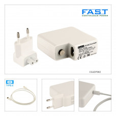 Fast Apple Usb Type C Şarj Adaptörü 20.3V 3A, 14.5V 2A, 9V 3A , 5.2V 2.4A 87W CSADP082