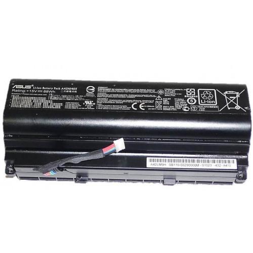 Asus A42N1403, A42LM93, G751, G751J, G751JM, G751JY, 15V 88Wh Orjinal Batarya