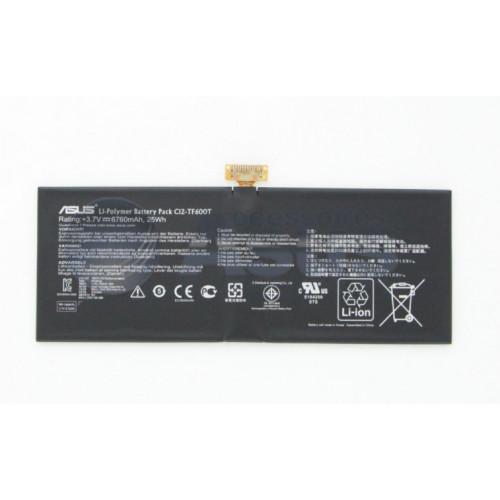 Asus C12-TF600T, C12-TF400C 3.7V 25Wh Transformer Vivo Tab Orjinal Batarya